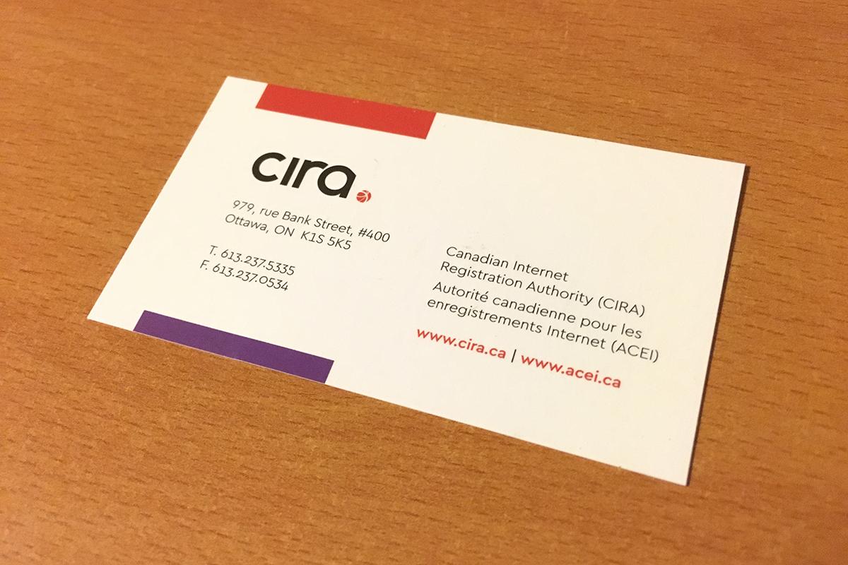 Business Card Design - Back